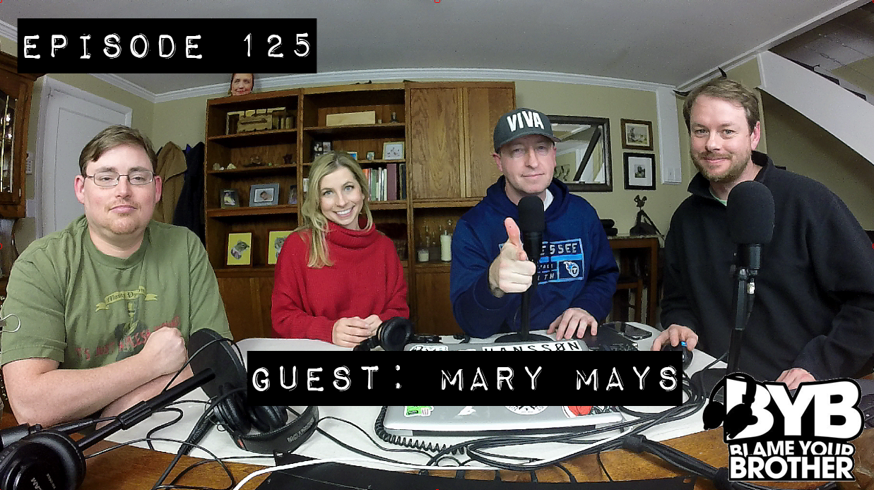 Episode 125 – Guest: Mary Marys (Meteorologist – WKRN